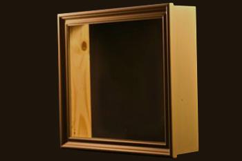 cadre vitrine avec lampe. Black Bedroom Furniture Sets. Home Design Ideas